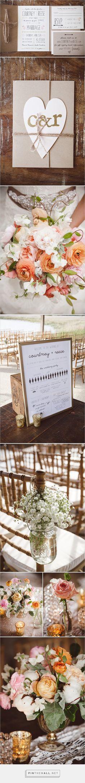 Blush Beauty Southern Wedding created on