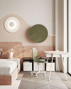 Kid's room #kidsroom #ideasforkidsroom #modernkidsroom minimalism #minimalisticarchitecture #minimalisticinterior #architecture #modernarchitecture #design #minimalisticdesign #minimalistickidsroom Minimalist Interior, Minimalist Design, Kidsroom, Modern Architecture, Corner Desk, Minimalism, House, Furniture, Home Decor