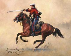 Imagen insertada Le Far West, Napoleonic Wars, Military History, Victorian Era, Warfare, Knight, Spanish, Illustration Art, Army