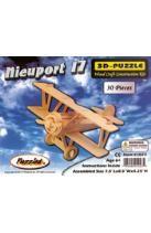 Nieuport 17 3-D Puzzle: Wood Craft Construction Kit