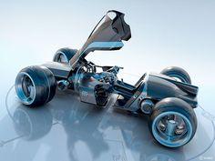 car Tron concept