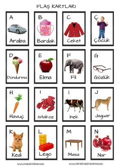 Educational game card (index card) - Innov Education Fun Activities For Kids, Infant Activities, Preschool Activities, Alphabet Cards, Alphabet For Kids, What Is Parenting, Turkish Lessons, Valentines Day Drawing, Learn Turkish Language