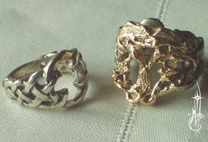 Druid Wedding Rings