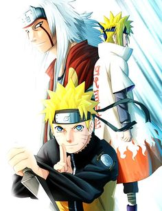 jiraiya Minato Naruto Online Game by narutommorpg