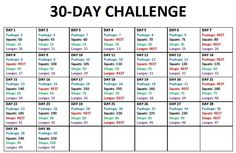 30-Day Challenge #1 this might be the way i can get the start I need to workout...
