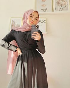 Modest Outfits Muslim, Modest Fashion Hijab, Modern Hijab Fashion, Hijab Fashion Inspiration, Islamic Fashion, Muslim Fashion, Fashion Outfits, Modesty Fashion, Modest Clothing