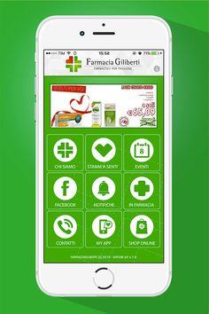 La nuovissima App Farmacia Giliberti ti permetterà di essere sempre aggiornati sulle novità della tua farmacia di fiducia.