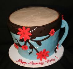 Such a cute cake!!