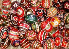 Coutume traditionnelle roumaine pour les fêtes de Pâques.
