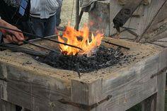 Ideas and tips for blacksmith tools , basic blacksmithing for beginners .   http://pioneersettler.com/blacksmithing-tools-for-beginners/