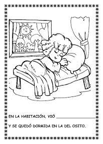 """COSILLAS DE INFANTIL: Cuento: """"Ricitos de Oro y los tres osos"""" I Wallpaper, Conte, Book Activities, Teaching, Comics, School, Books, Spanish, Kids Education"""