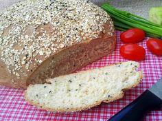 Domowa Cukierenka - Domowa Kuchnia: chlebek owsiany z czarnuszką