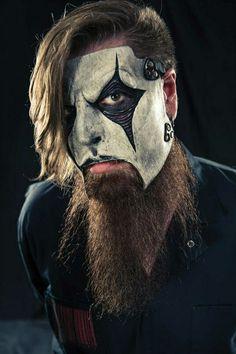 #Slipknot, #Mascara, #banda, #Metalcore, #musica, #4, #JimRoot, #Guitarrista, #Guitarra, #Barba,