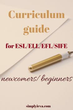 How and what to teach ESL beginners in their first year - units, objectives, vocabulary, phonics, grammar and more. Teaching Strategies, Teaching Tips, College Teaching, Ell Strategies, Education College, Music Education, Kids Education, English Lessons, Learn English