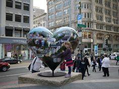 Hearts in Union Square, San Francisco