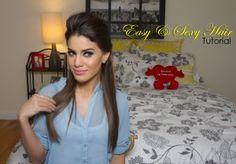 """Oi meninas, Hoje tem Vídeo novo no meu canal em Inglês (MakeupbyCamila2 no Youtube!) Gravei o tutorial de um penteado super fácil que eu adoro usar! É fácil mesmooo gente, e gosto porque ele fica sensual mas com um ar """"bagunçado"""" sabe? Super versátil pro dia a dia =) Espero que vcs gostem! Gostaram, amores..."""
