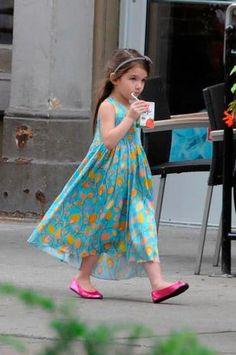 Suri Cruise: foto a foto, cómo creció la niña ícono de moda - Terra Argentina