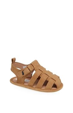 58aa9dfec99c Ralph Lauren Layette Sandal (Baby Boys) available at  Nordstrom Baby Boy  Shoes
