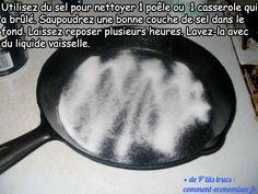 L'Astuce Qui Marche Pour Nettoyer Une Casserole Brûlée.