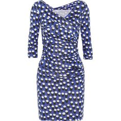Diane von Furstenberg Bentley dot-print silk-jersey dress