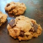 Vegan Toasted Coconut and Chocolate Chunk Cookies (coconut oil is the secret to THE BEST chocolate chip cookies ever!)