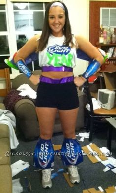 Creative Play on Words Bud Lightyear Costume... Coolest Halloween Costume Contest