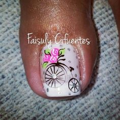 23 that will make you bright summer nails designs glitter fun 020 Pretty Toe Nails, Cute Nails, My Nails, Pedicure Nail Art, Toe Nail Art, Bright Summer Nails, Vintage Nails, Nails Only, Toe Nail Designs