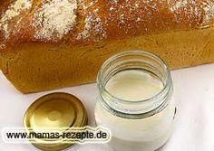 Natursauerteig mit Dinkelmehl   Mamas Rezepte - mit Bild und Kalorienangaben