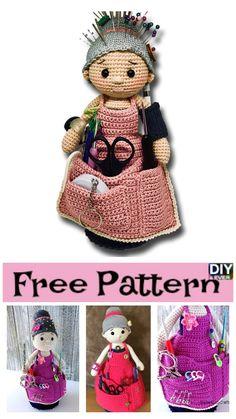 Crochet Crafter Granny Organizer – Free Pattern #crochet #freepattern