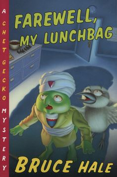 Farewell, My Lunchbag: From the Tattered Casebook of Chet Gecko, Private Eye Books For Boys, Children Books, Stink Bugs, Mystery, Reading, Marshmallow, Fictional Characters, Casserole, Pie