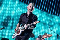 Thom Yorke of Radiohead performs in Paris.