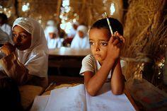 Educar con todo en contra - Un aula en Al-Zil'iyah en la gobernación de Hodeidah (Yemen) - Reuters (2012)