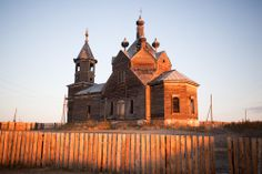 Pic 4 of 4 ~ Abandoned wooden church.