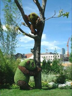 Amazing Animal Bush Sculptures - My Modern Metropolis