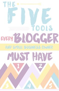 Essential Tools Every Blogger and Small Business Owner Needs to take their Blog or Business to the Next Level.