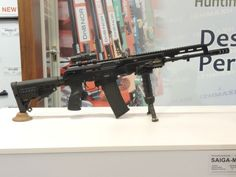 See more at: http://www.all4shooters.com/en/news/rifles/2013/Izhmash-Saiga-Mk107-semiautomatic-rifle/  The Russian IZHMASH company is soon to offer the Saiga Mk.107 semi-automatic rifle, a civilian version of the AK-107 assault rifle!