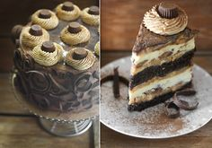 peanut butter cup chocolate cheese cake