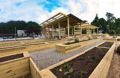 community garden design | Student-Designed Community Garden Sprouts in Rhode Island ...