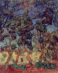 Vincent van Gogh, Hospital at Saint-Rémy, 1889 - Hammer Museum