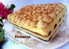 Asalam Alaykom, Le tiramisu l'un de mes dessert préférés, léger, frais et pas trop sucré mais cette fois je l'ai préparé avec la poudre de t...