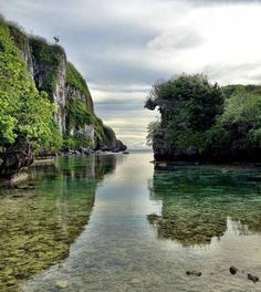 Spanish Steps Lagoon in Guam, Mariana Islands