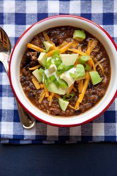 Vegetarian Chili–Annie's Eats