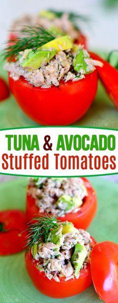 Tuna and Avocado Stu