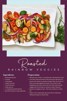 Epicure Recipes, Quick Recipes, Side Dish Recipes, Quick Meals, Side Dishes, Dinner Recipes, Healthy Recipes, Roasted Vegetables, Veggies