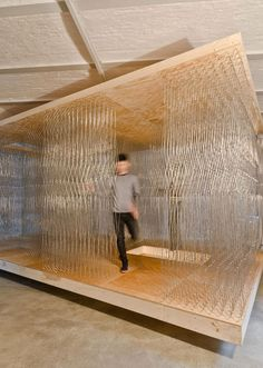 Thicket Pavilion Study 2.0 by Barkow Leibinger, Berlin – Germany » Retail Design Blog