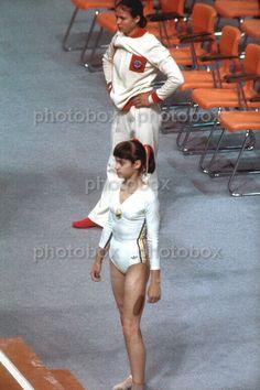 Nadia Comaneci, Trish Stratus, The Originals, Original Image, Sports Women, Memes, Gymnastics, White Shorts, The Incredibles
