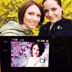 HAMMER Shooting mit der lieben hübschen Lisa!!! Es ist zwar echt kalt heut draußen aber jede Minute lohnt sich!!!  by kacy - makeup & photo