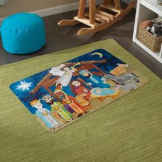 Floor Puzzle - Nativity Scene