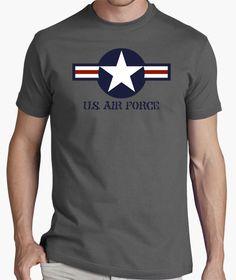 Camiseta USAF - nº 522386 - Camisetas latostadora