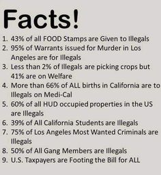 Some more piece of shit lies for you to eat up and hate imigrants. Facts from where?? Ive been exploring left and right post all os a sudden i get bombed with all this ate pins. Im not saying they are left or right but all this arentn even backed up or real. Thanks trump